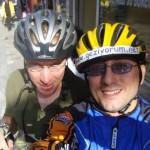 Matt, Dahon Katlanır Bisikletler ve Yeni Arkadaşlık – Matt, Dahon the fold-up bicycle and a New Friend