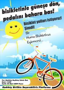 Bisiklet Yolları Eylemi