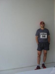 Balkonda Yanlız ve Maratona Hazır