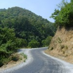 Delmece yaylasi-yol