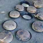 Delmece yaylasi-köy ekmeği