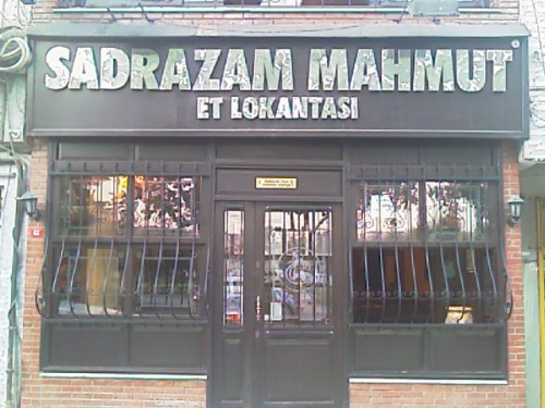 Sadrazam Mahmut Restoran
