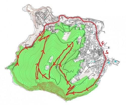 Burgaz Koşu Haritası