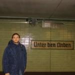 Unten Den Linden Metro Durak
