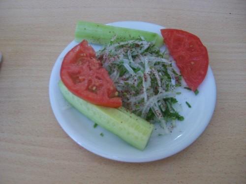 Soğanlı salata