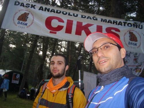 Çıkış- ADAM 2009 Anadolu Dağ Aşma Maratonu - Bolu