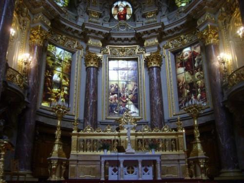 Berlin Katedralinin içi