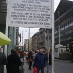 Check Point Charlie Batı Berlin