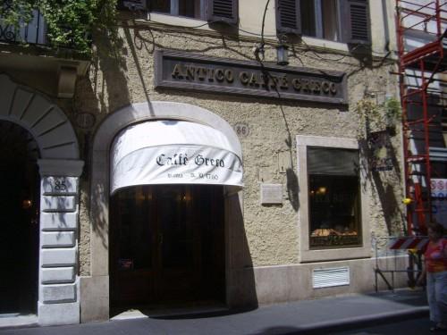 Roma Cafe Greco